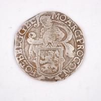 Dutch lion daalder coin, Castine, 1641