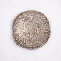 Dutch three guilder (gulden) coin, Castine, 1682