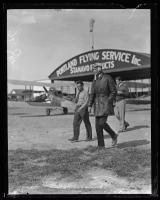 Charles Lindbergh at Old Orchard Beach, 1927
