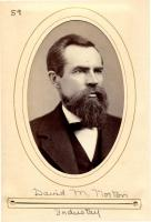 David M. Norton of Industry, Maine State Legislature, 1880