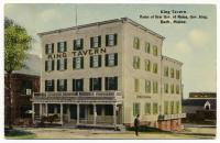King Tavern, Bath, ca. 1910