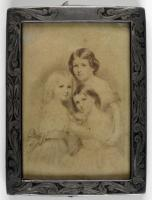 Henry W. Longfellow's daughters, ca. 1863