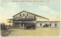 Island Ledge Casino, Wells Beach, ca. 1915