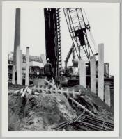 Construction of Maine Medical Center parking garage, Portland, ca. 1971