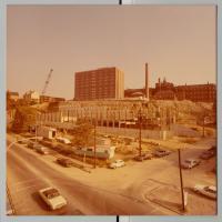 Maine Medical Center parking garage construction, Portland, ca. 1971