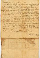 William Bayley to mother, June 9, 1777