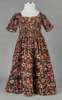 Olive Gray's childhood dress, North Yarmouth, ca. 1785
