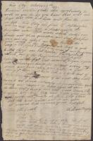 William Bayley to mother, October 15, 1777