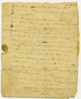 William Bayley letter to mother, April 16, 1778