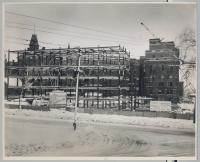 Maine Medical Center construction, Portland, 1955