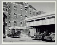 Construction of Charles A. Dana Health Education Center, Portland, ca. 1984