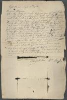 Letter from William Bayley to mother, September 11, 1782