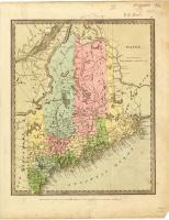 Map of Maine, 1835