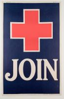 """American Red Cross """"Join"""" poster, ca. 1917"""
