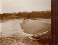 Pejepscot Dam, Topsham, 1897