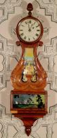 Banjo clock owned by Knox family, ca. 1835