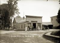 Hilton's Store and Post Office, Alna, 1909