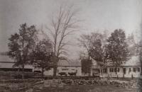 Straw farm on Patterson Road, Limerick, ca. 1880
