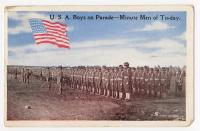 U.S.A. boys on parade, 1917