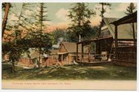 Cummings Camps, Square Lake, ca. 1900