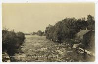 Rips of Grand Lake Stream, ca. 1920