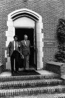 Edmund S. Muskie Archives Dedication, Lewiston, 1985