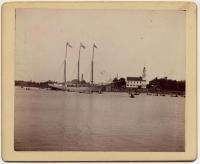 Schooner Golden Ball at Kennebunkport, 1890