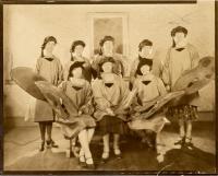 Waitresses at Cabaret D'Art, 1930