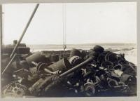 Pile of scrap, W.H. Perry Co., Portland, circa 1909