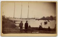 Schooner Julia Frances, Kennebunkport, 1889