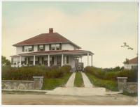 Stone house with hip roof,  975 Sawyer Street, South Portland, ca. 1920s
