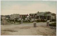 Adelbert Street near corner of Sawyer Street, Sylvan Site, South Portland, ca. 1920s