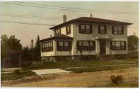 Stucco house with hip roof, 30 Richards St., South Portland, ca. 1920s