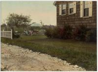 Children in yard, Clifford Street, South Portland, c. 1920s