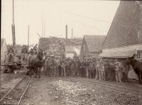 Slate workers, Monson, ca. 1922