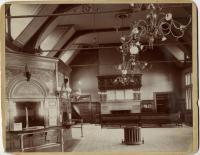 Interior of Union Station, Portland, ca. 1890