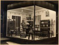 Front window, Atherton Furniture Store, Waterville, 1911