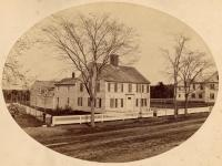 Brackett house, Federal Street, Brunswick, ca. 1860
