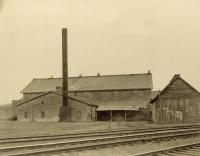Steam lumber mill, Gilbertville, 1906