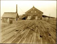 Gilbertville steam lumber mill, 1906