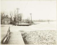 Flood in Brunswick, ca. 1900
