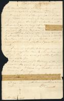 Letter from Peleg Wadsworth to his wife, Betsey, Feb. 20, 1781