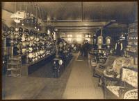 Lamp department, Atherton Furniture, Waterville, c. 1910