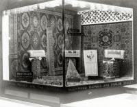 Carpet window, Atherton Furniture, Waterville, ca. 1910