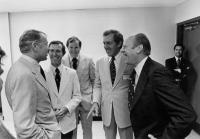 Maine congressional delegation, Augusta, 1975