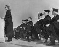 President Kennedy honorary degree, Orono, 1963