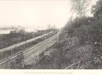 Bangor and Aroostook Railroad line near Caribou.