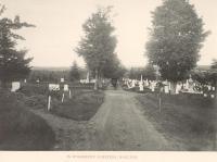 Evergreen Cemetery, Houlton, ca. 1890