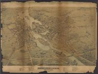 Birds-eye view of the cities of Biddeford & Saco, 1875