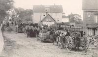 Potatoes for starch factory, Houlton, 1890